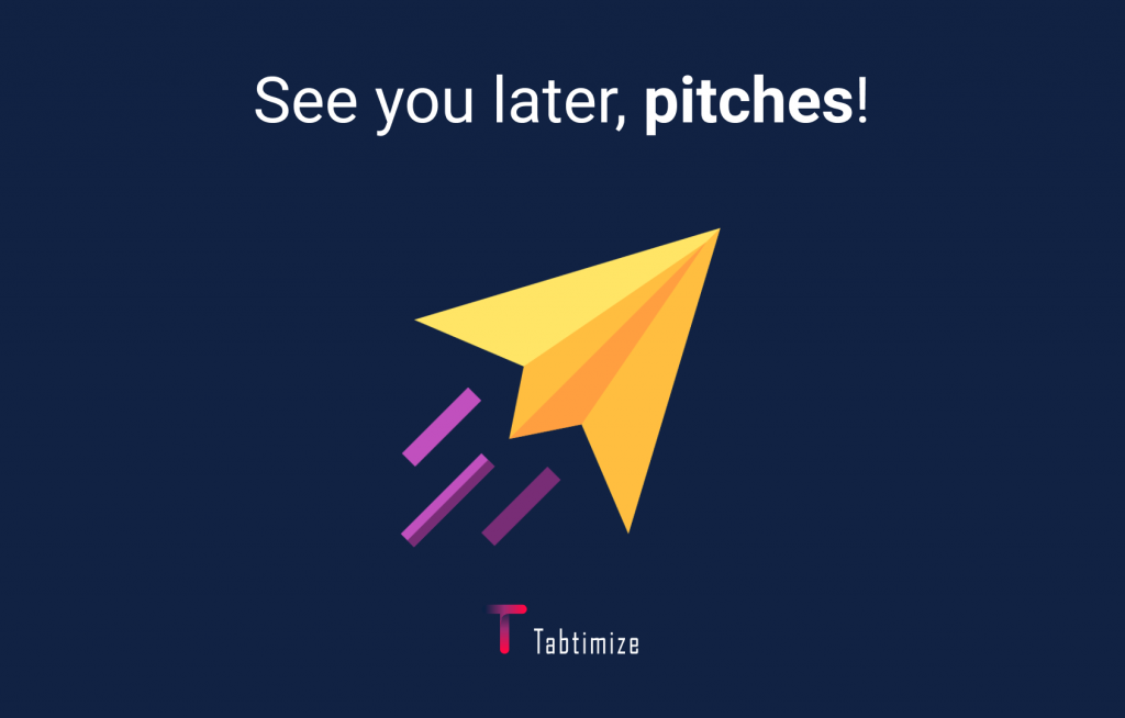 say goodbye to pitching in outreach