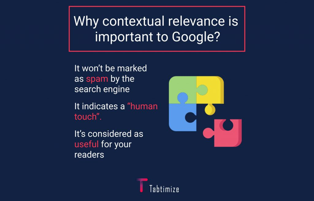 why contextual relevance is important to google