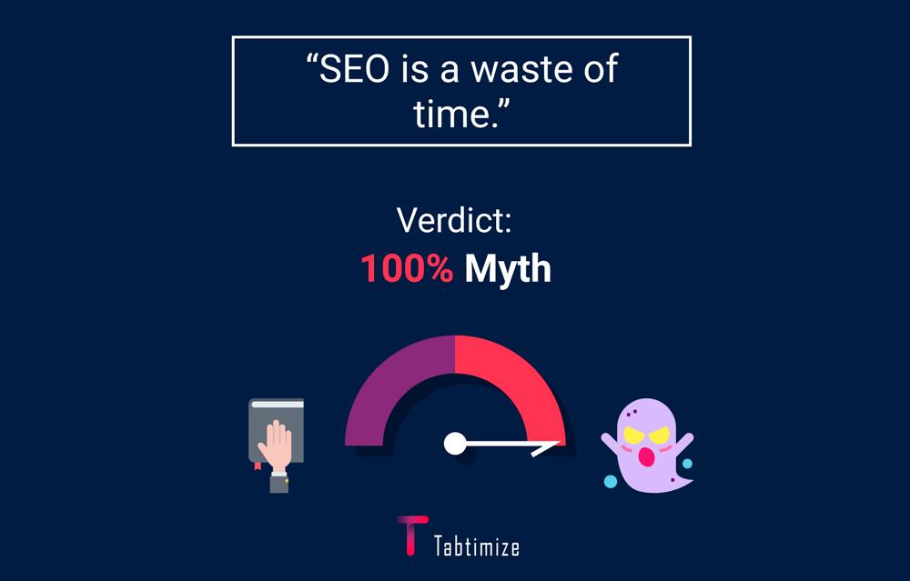SEO Myth 10 - SEO is a waste of time